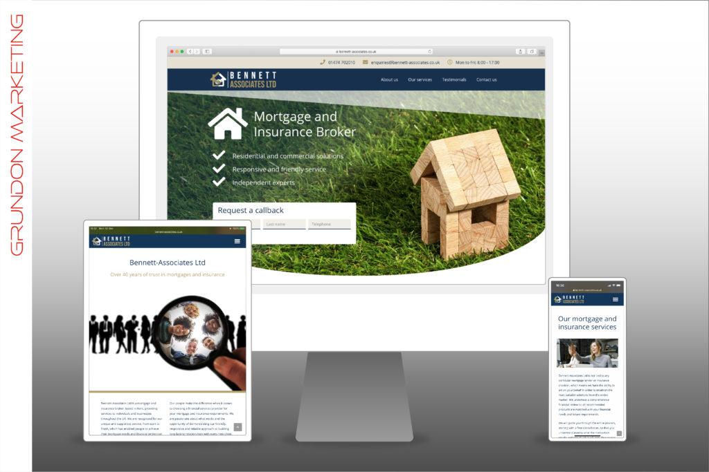 Bennett-Associates Ltd - Website On Devices